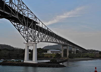 Photograph - Bridge Of The Americas In Panama by Kirsten Giving