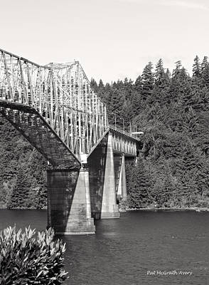 Photograph - Bridge Of The Gods by Pat McGrath Avery