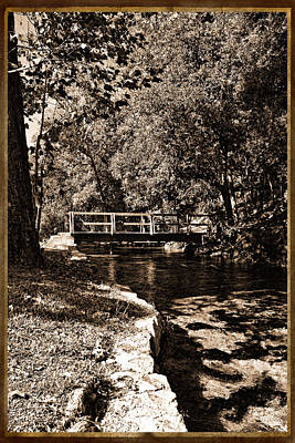 Photograph - Bridge Of Yesterday by Judy Vincent