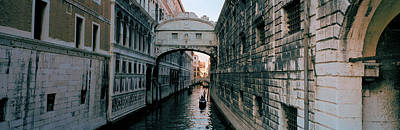 Bridge On A Canal, Bridge Of Sighs Art Print by Panoramic Images