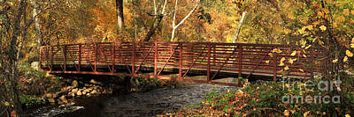 Bridge On Big Chico Creek Art Print