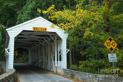 Photograph - Bridge On Route 252 In Valley Forge by Rima Biswas