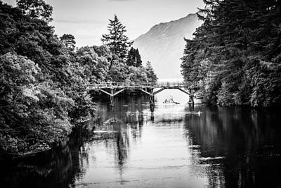 Photograph - Bridge On The Loch by Matthew Onheiber