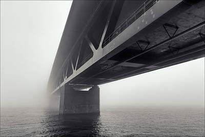Malmo Photograph - Bridge Out Of The Mist by EXparte SE