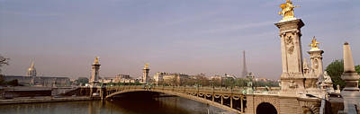 Alexandre Photograph - Bridge Over A River, Alexandre IIi by Panoramic Images
