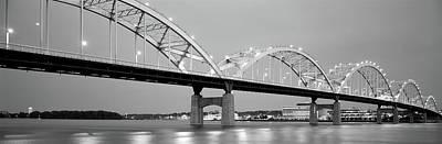 Bridge Over A River, Centennial Bridge Art Print by Panoramic Images