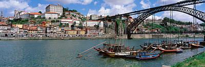 Luis Photograph - Bridge Over A River, Dom Luis I Bridge by Panoramic Images