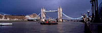 Bridge Over A River, Tower Bridge Art Print by Panoramic Images