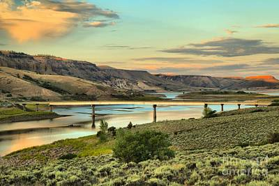 Photograph - Bridge Over Blue Mesa by Adam Jewell