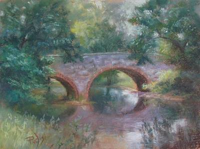 Painting - Bridge Over Cocalico Creek by Bill Puglisi