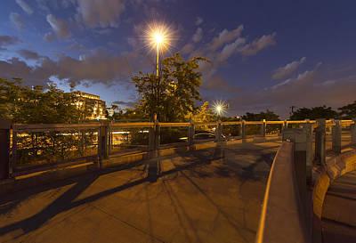 Bridge Over Denver Art Print