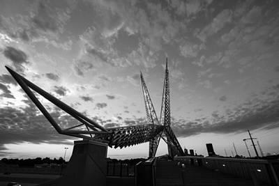 Photograph - Bridge Over I-40 by Nathan Hillis