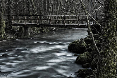 Photograph - Bridge Over Rough Water by Miguel Winterpacht