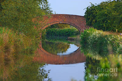 Photograph - Bridge Over The Canal by Jeremy Hayden
