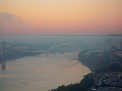 Photograph - Bridge Over The Ohio by Ellen Meakin