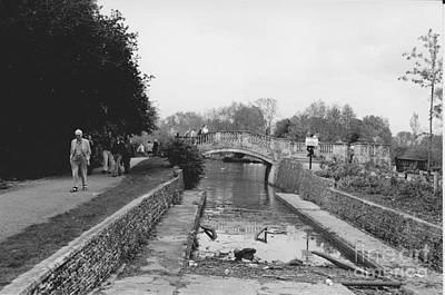 Photograph - Bridge Over The Oxford Canal by Julie Koretz