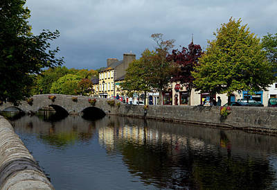 Westport Photograph - Bridge Over The River Carrowbeg by Panoramic Images