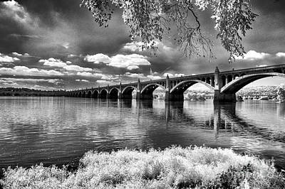 Photograph - Bridge Over The River by Paul W Faust -  Impressions of Light