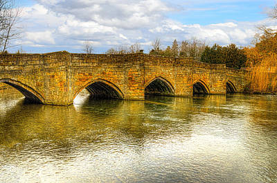Photograph - Bridge Over The River Wye by Nick Field