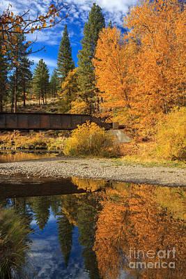 Photograph - Bridge Over The Susan River by James Eddy