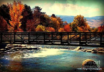 Bridge Over The Truckee River Art Print