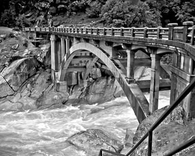 Photograph - Bridge Over The Yuba River by William Havle