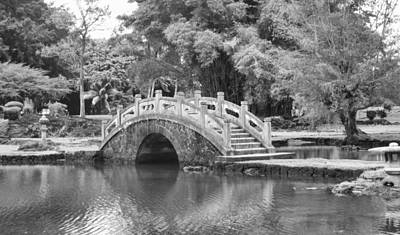 Photograph - Bridge Over Tranquil Waters by Eva Rau