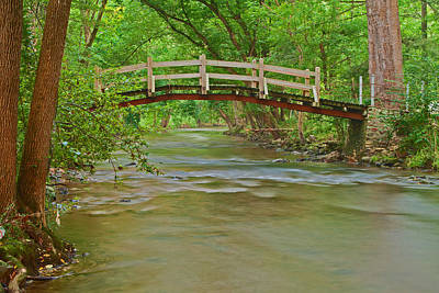 Bridge Over Valley Creek Art Print