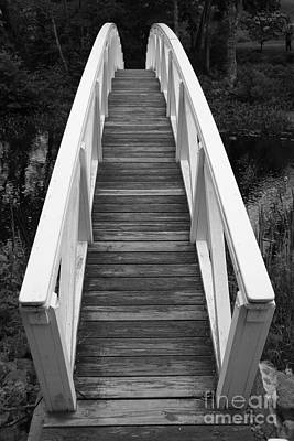Somesville Photograph - Bridge Perspective - Somesville by Christiane Schulze Art And Photography