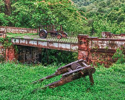 Bridge Ponce Print by Giovanni Arroyo