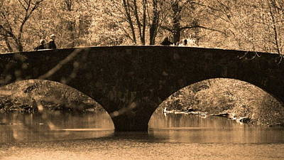 Photograph - Bridge by Roseann Errigo