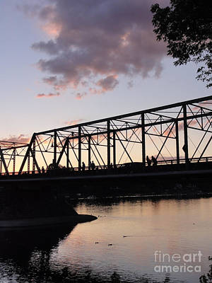 Bridge Scenes August - 1 Art Print