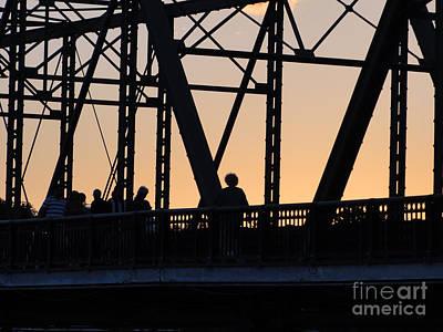 Bridge Scenes August - 2 Art Print