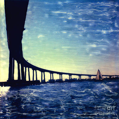 Photograph - Bridge Shadow by Glenn McNary