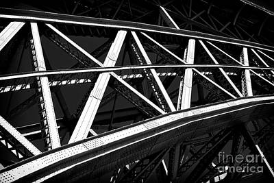 Photograph - Bridge Slice by John Rizzuto