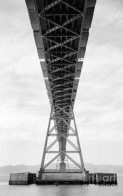 Bridge Span Art Print by Charmian Vistaunet