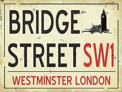 International Painting - Bridge Street by Jo Moulton