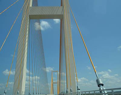Easter Bunny - Bridge Suspension by Maggy Marsh