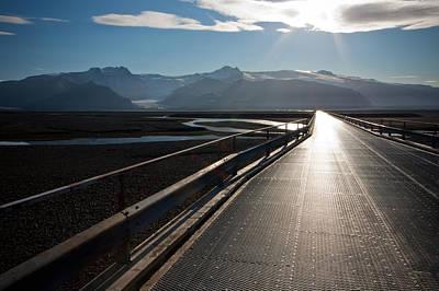 Photograph - Bridge To A Glacier by Anthony Doudt