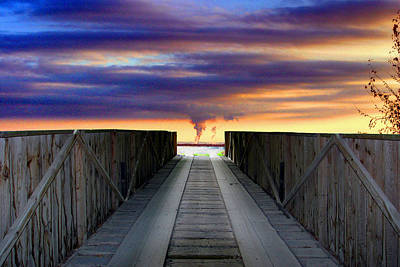 Photograph - Bridge To Armageddon by Gene Walls