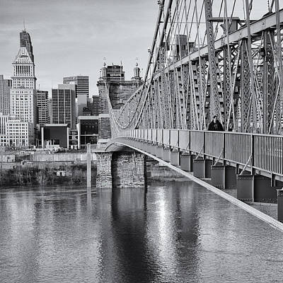 Bridge To Cincinnati Art Print