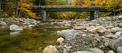 Photograph - Bridge To Cold River Road by Jatinkumar Thakkar