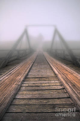 Bridge To Fog Art Print by Veikko Suikkanen