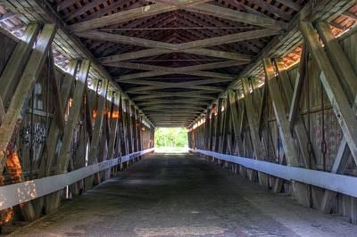 Bridge To Green Art Print