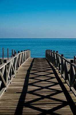 Photograph - Bridge To Med by Piet Scholten