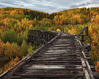 Torn Photograph - Bridge To Nowhere... by Doug Roane