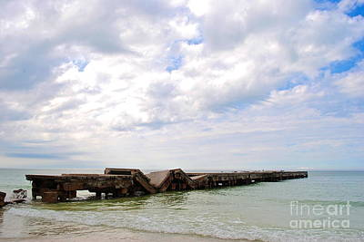 Art Print featuring the photograph Bridge To Nowhere by Margie Amberge