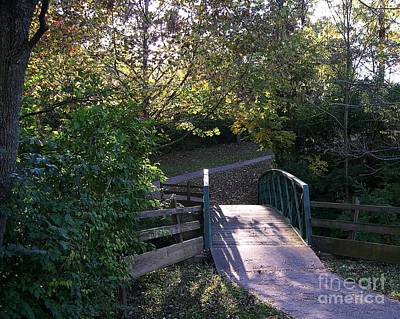 Photograph - Bridge To Nowhere by Mel Steinhauer