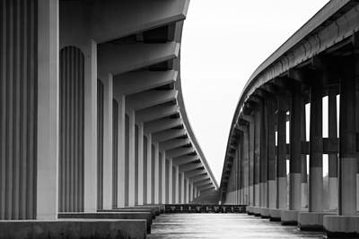 B Photograph - Bridge To Nowhere by Stefan Mazzola