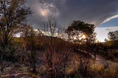 Photograph - Bridge To Sunset by Chuck Summers